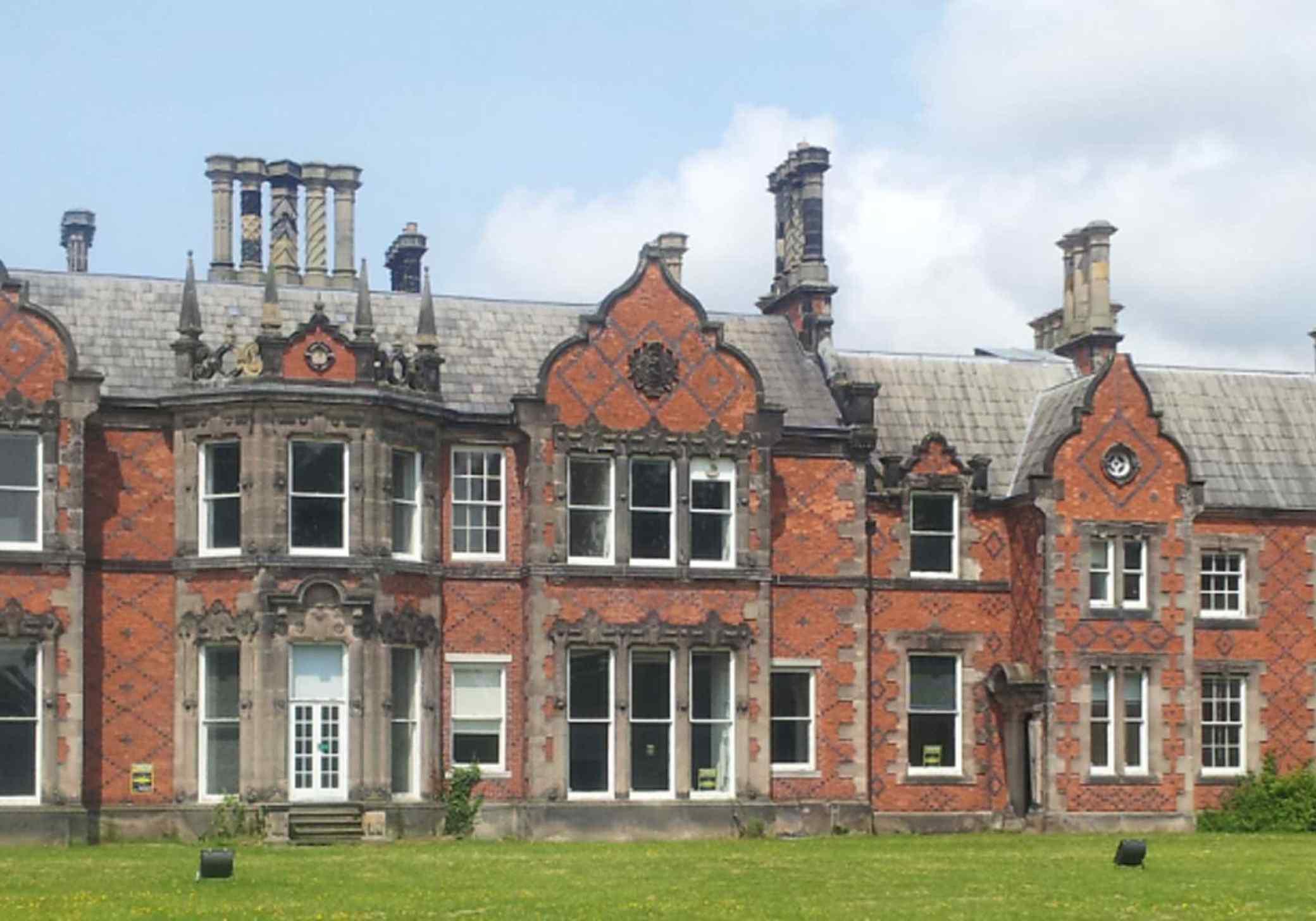 Backford Hall rear aspect