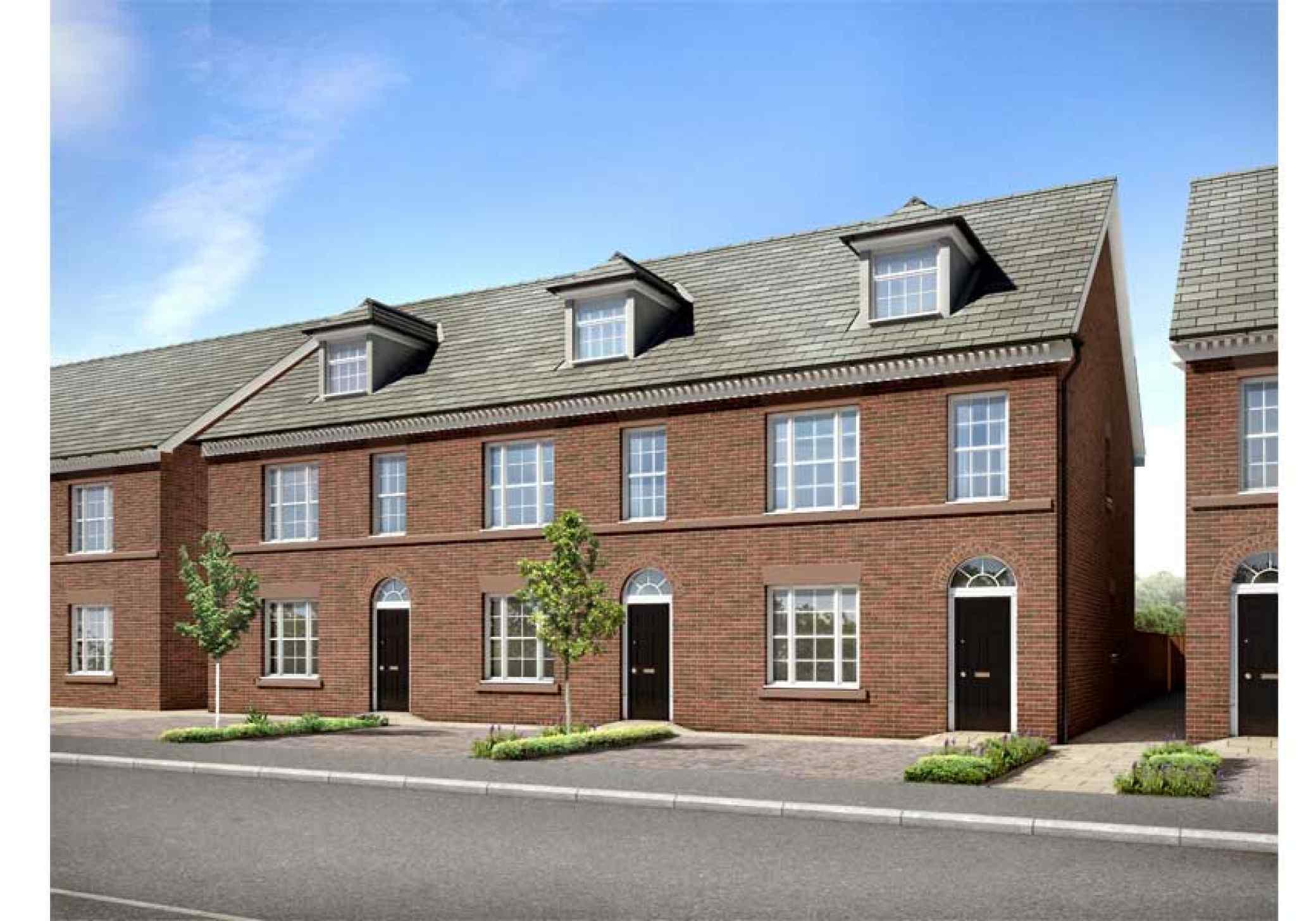 HM Stanley house type 2 exterior design