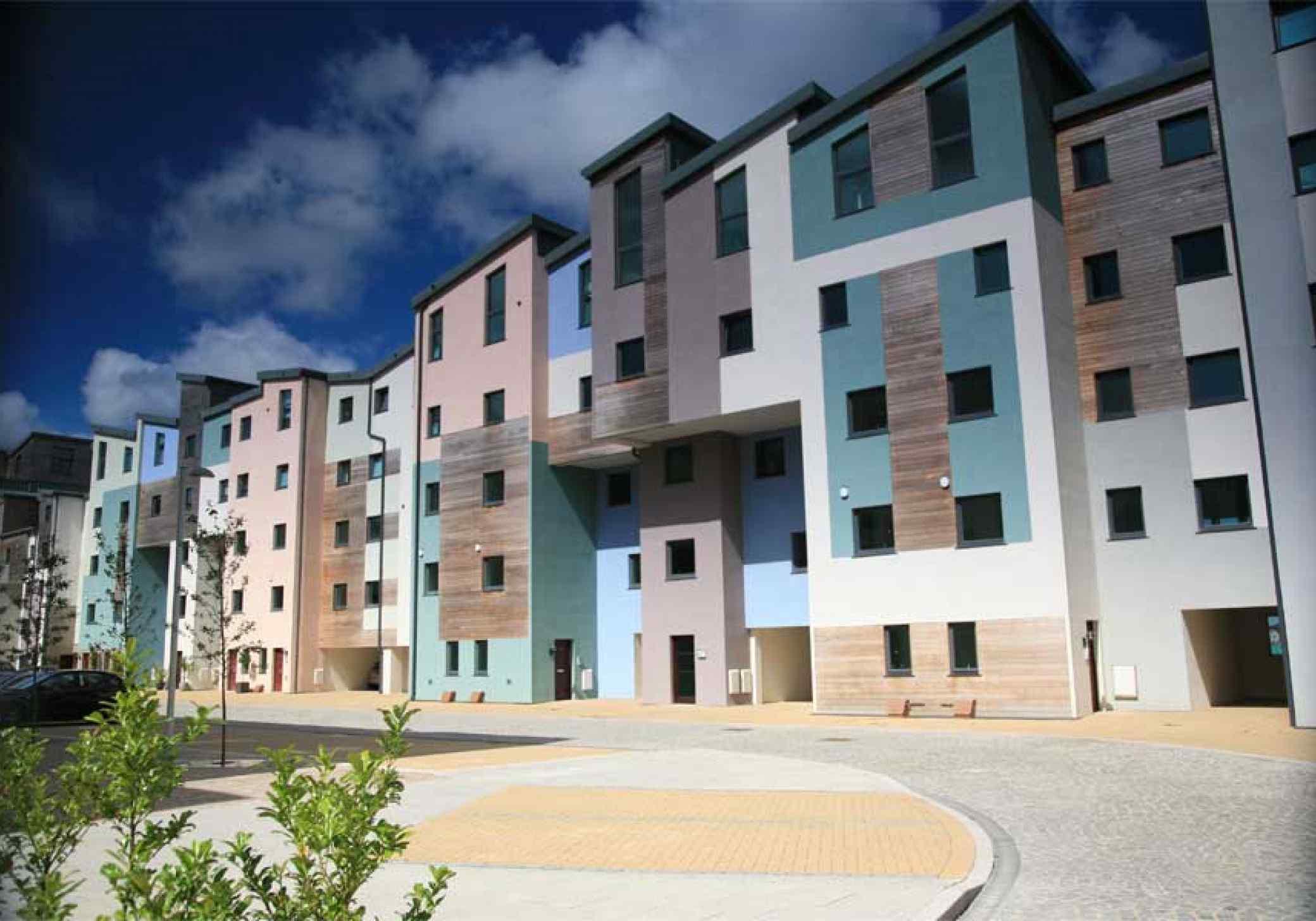 Victoria Dock Caernarfon residential apartments