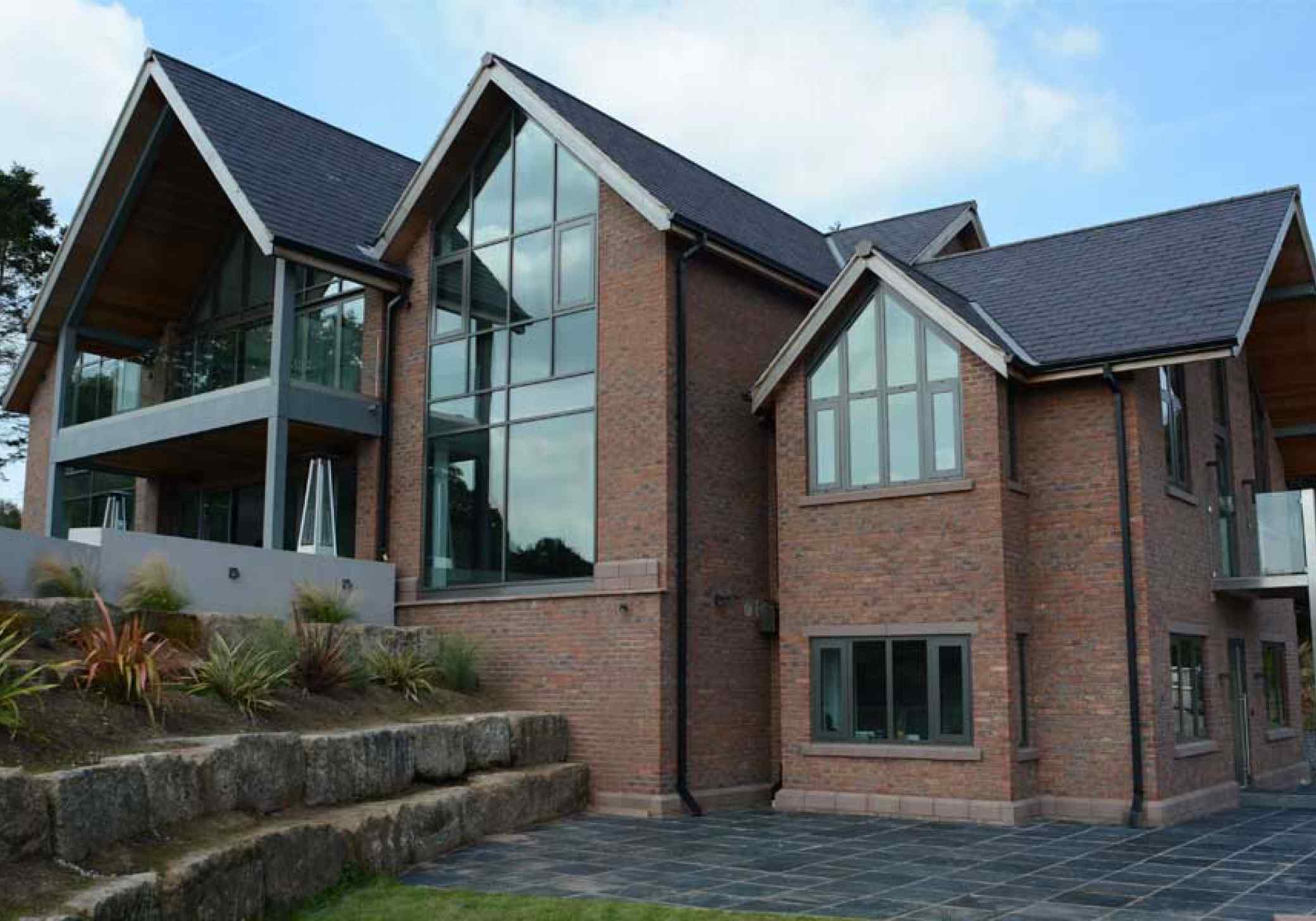 Front elevation Norley replacement dwelling Cheshire
