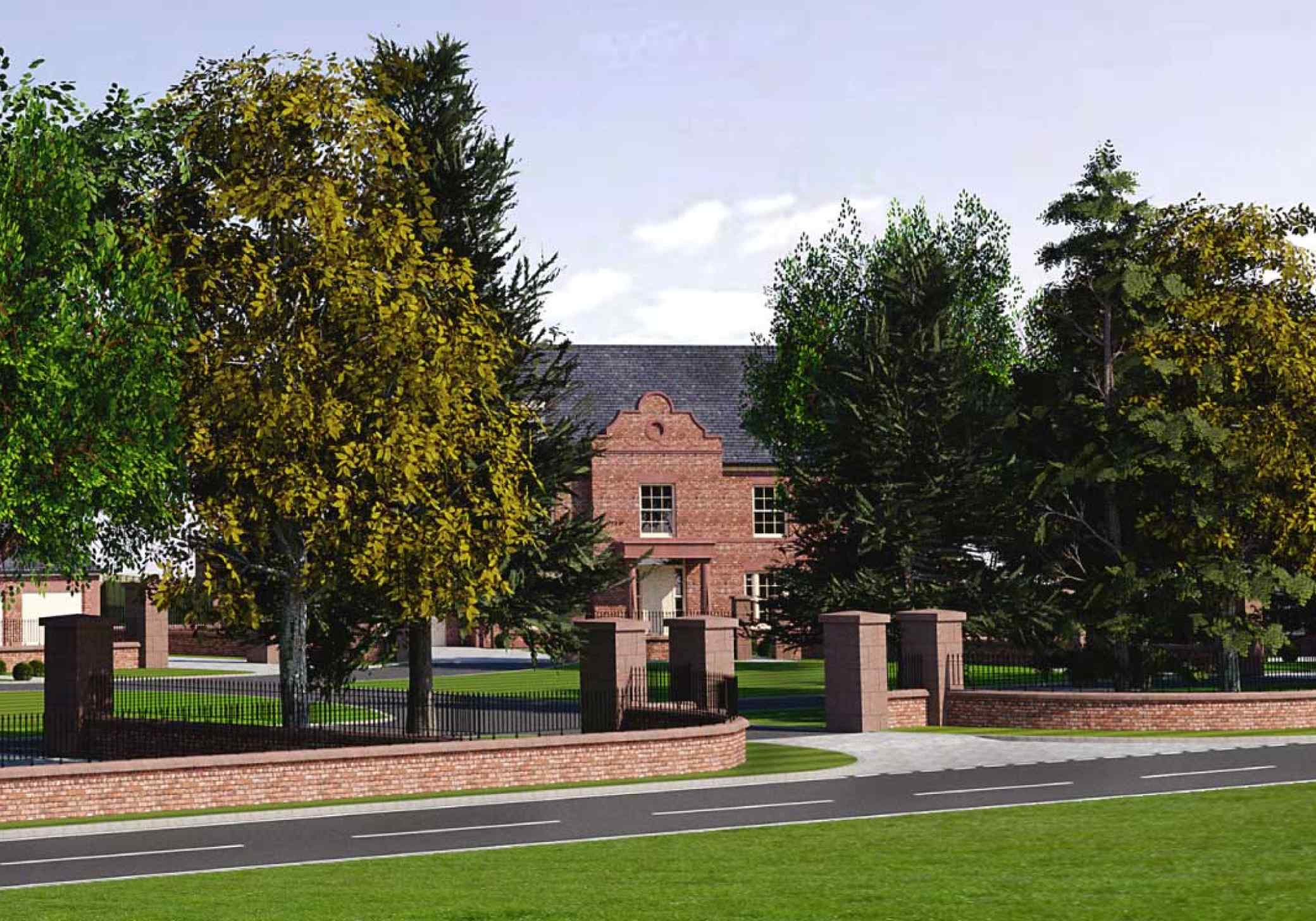 New Development at Former Red Lion, Eaton, Tarporley, Cheshire