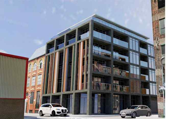 Ancoats Apartments illustration