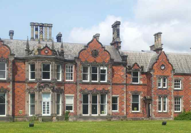 Backford Hall rear aspect