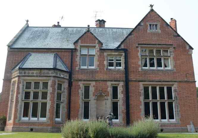 Nantleys Hall North Wales front aspect